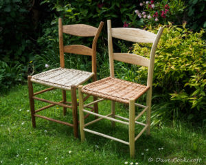 dinning chairs with willow seats