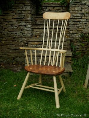 Welsh stick chair - the Llangrannog armchair