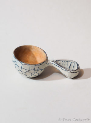 seascoop alder and milk paint tablespoon scoop