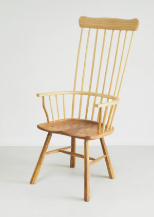 High back Cardigan style Welsh stick chair