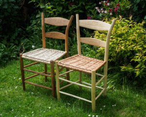 Willow seated side chairs