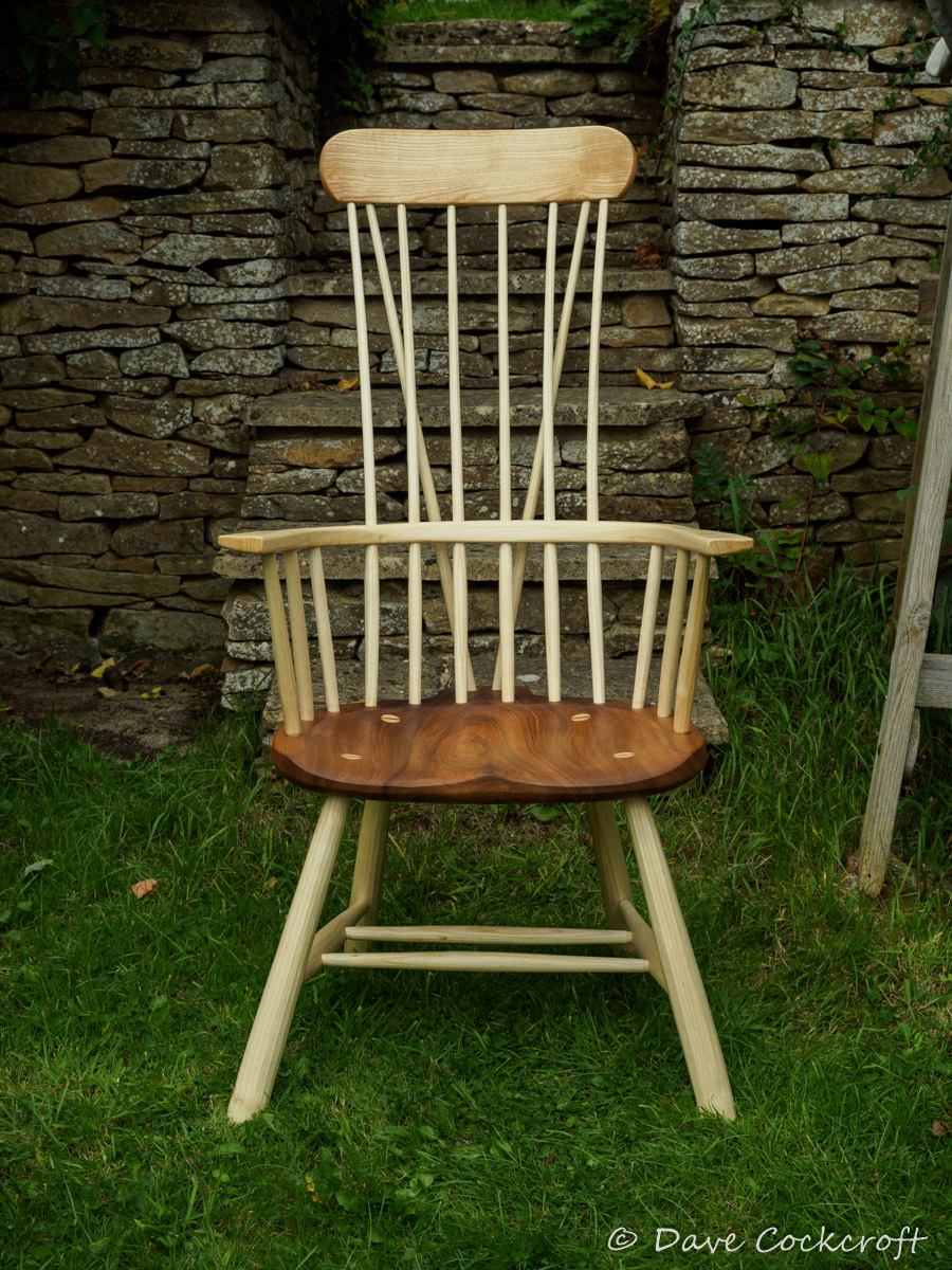 Welsh stick chair - the Llangrannog armchair