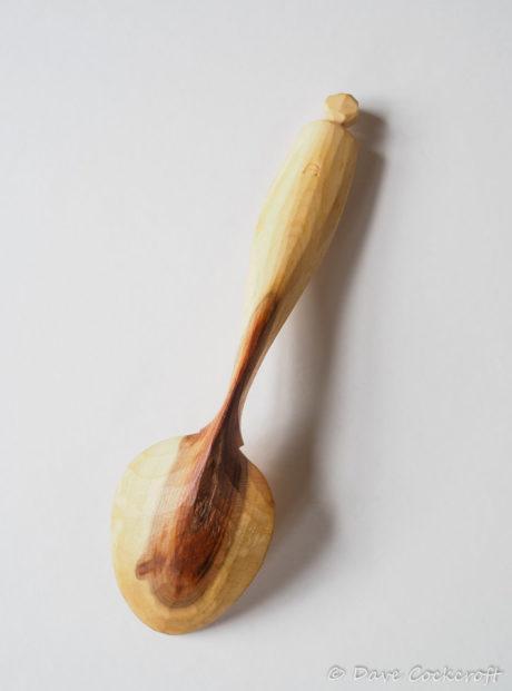 Blackthorn eating spoon #6