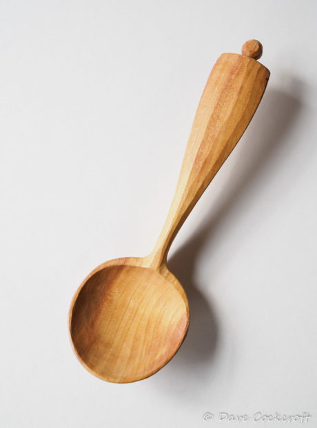 Plum round bowl eating spoon #4