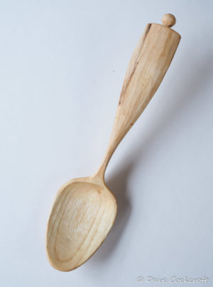 Elm crook eating spoon #6