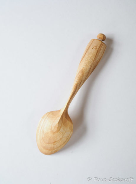 Elm eating spoon #8