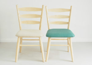 The Tetbury - upholstered dinning chair in choice of colours