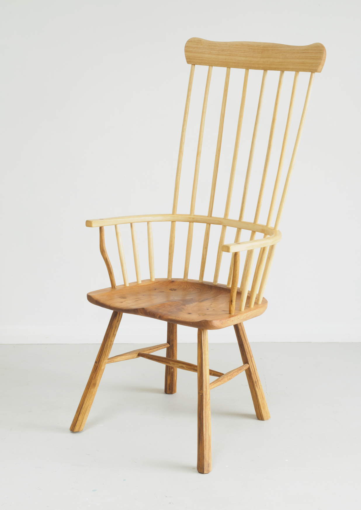 John Brown Cardigan style welsh stick chair
