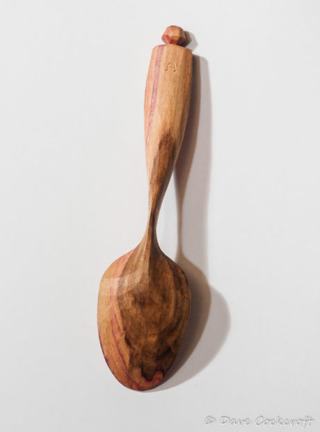 Blackthorn eating spoon 17