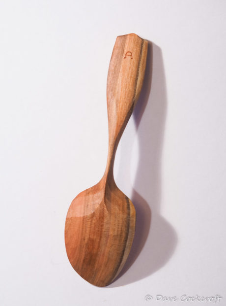 Blackthorn eating spoon #14