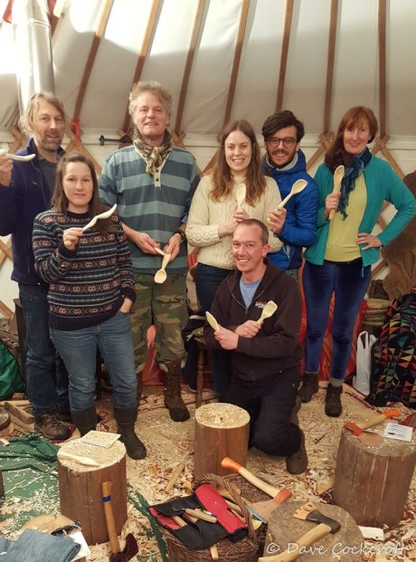 Loulou beginners spoon course group