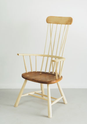 Welsh stick chair - the Llangrannog Arm Chair