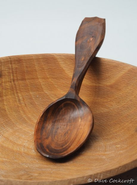 fruitwood eating spoon