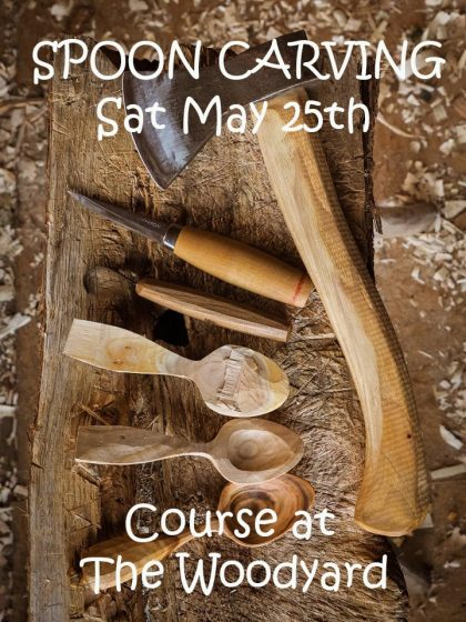 Spoon carving course May 25th