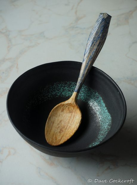 Natural wooden spoon